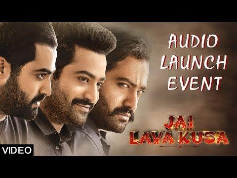 Jai Lava Kusa Audio Launch Event - NTR, Kalyan Ram, Devi Sri Prasad, Raashi Khanna