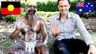 ABORIGINAL AUSTRALIAN ELDER Teaches Me Ancient Culture Of Australia