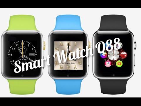 Часы smart watch q88 инструкция на русском