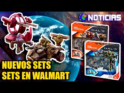 NOTICIAS   NUEVO SET + EQUIPO AZUL + OSIRIS, HEROES SERIES 4  EN WALMART   MEGA CONSTRUX