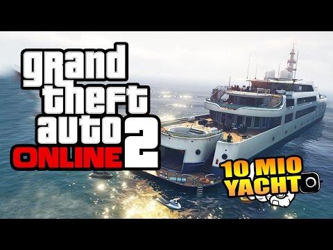 GTA ONLINE 2.0 - LUXUSYACHT für 10 Millionen Dollar [HD+]   Let's Play GTA Online