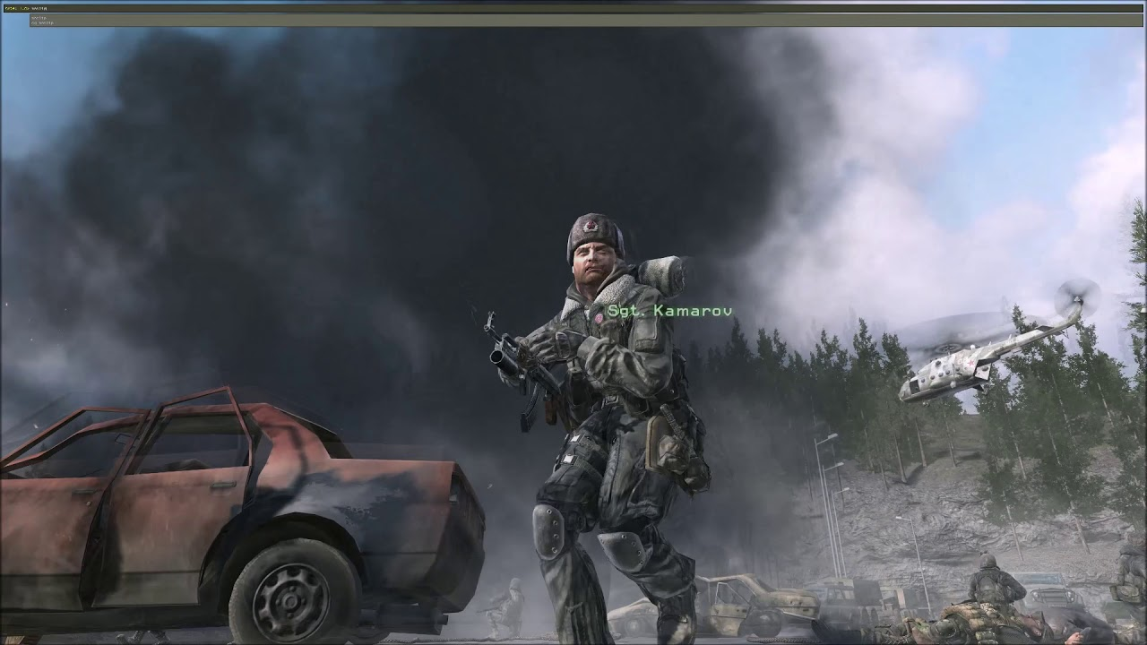 Cod 4 Mw What Happens If You Kill Zakhaev Early Can Gaz Be Saved Youtube