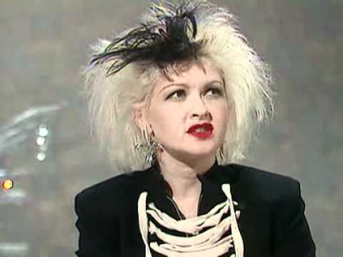 Cyndi Lauper '89 interview UK