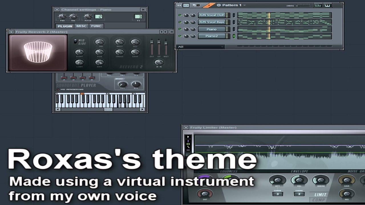 [Vocal Virtual Instrument] Roxas's Theme