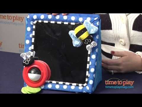 Crib & Floor Mirror from Sassy - YouTube