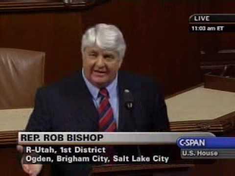 Congressman Rob Bishop Defends 2nd Amendment Rights on Public Lands