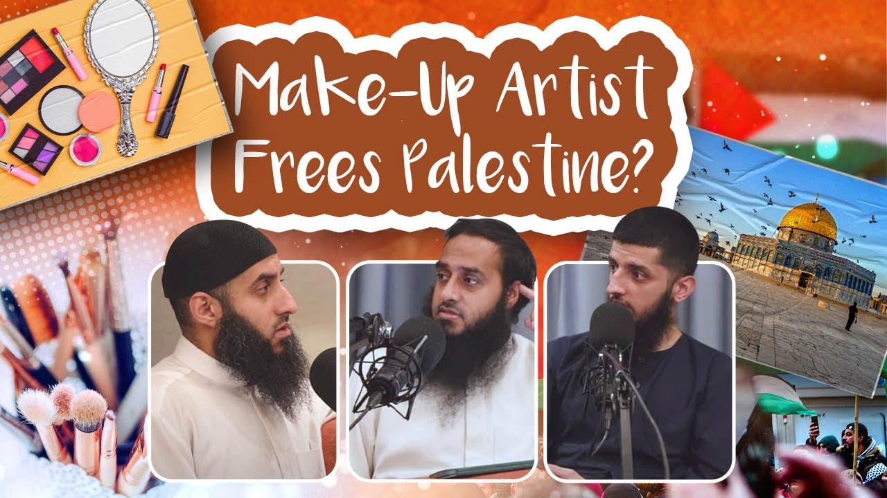 #69 Make Up Artist Frees Palestine? || Chai With My Bhai