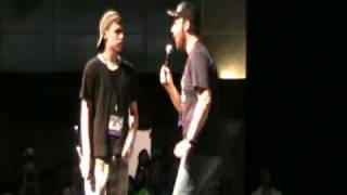 Yugi vs Jaden - Battle: LIVE at Otakon 2010