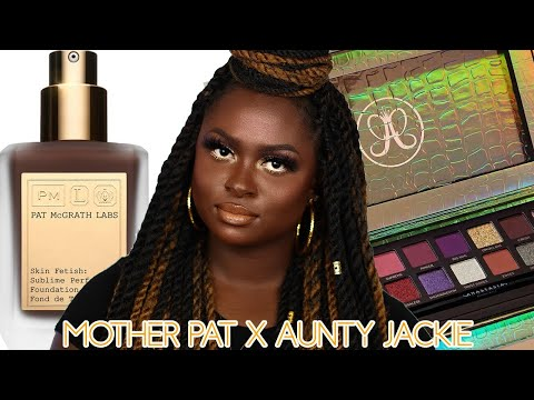 PAT McGRATH x JACKIE AINA | SUBLIME PERFECTION REVIEW with JACKIE X ABH PALETTE TUTORIAL | OHEMAA thumbnail