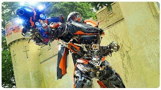"""Transformers 5 The Last Knight (HD) All HOT ROD  """"Stop The Time """" scenes"""