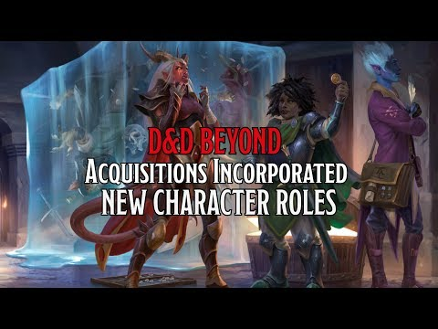 All The Character Roles In D&D's 'Acquisitions Incorporated