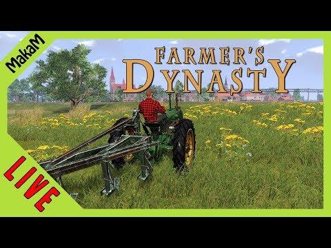 Farmer's Dynasty Gameplay LIVE [HUN] #6 - Folytatjuk a felújítást!