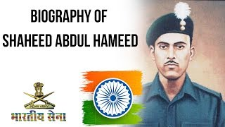 Gambar cover Biography of Shaheed Abdul Hameed, Indian Army soldier & posthumous Param Vir Chakra awardee