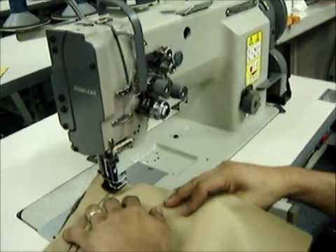 HIGHLEAD GC4040 Two Needle Walking Foot Sewing Machine YouTube Gorgeous Highlead Sewing Machine