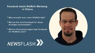 Facebook testet Werbeanzeigen in Videos | Fairrank TV – Newsflash