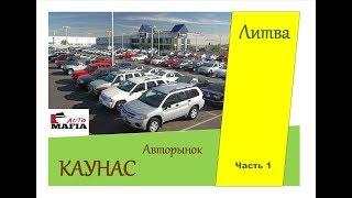 Авторынок ЛИТВА, КАУНАС! Цены на авто Август 2018. Часть 1
