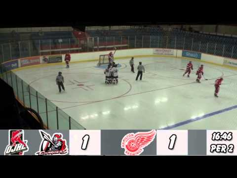 Mississauga Chargers at Hamilton Red Wings OJHL Highlights Oct 13