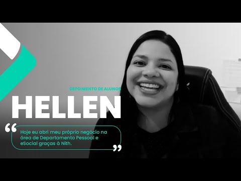 Depoimento de Alunos - Hellen | Nith Treinamentos