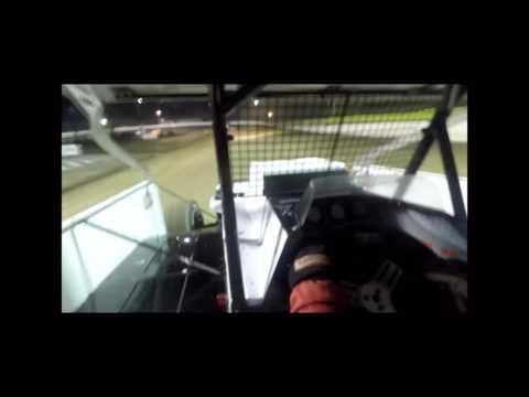 "Joe ""Geezer"" Fanelli Heat Race at Grandview Speedway 4-8-17"