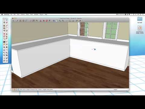 Sketchup #29: Kitchen Cabinets