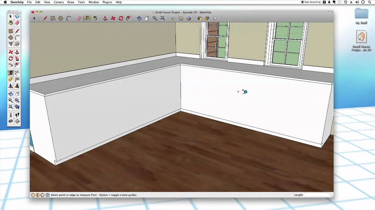 Sketchup 29 kitchen cabinets