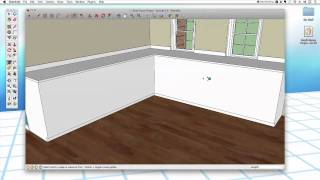 Sketchup 29: Kitchen Cabinets