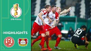 Sensation in der Verlängerung! | Essen - Bayer Leverkusen 2:1 | Highlights | DFB-Pokal Achtelfinale