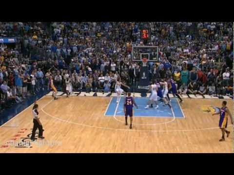 Ramon Sessions And Steve Blake Clutch 3s Vs Nuggets (GM4 Nba Playoffs 2012)