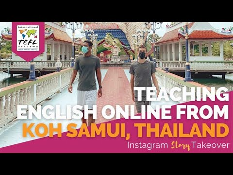 Day in the Life Teaching English Online from Koh Samui, Thailand with Allen & Guillem