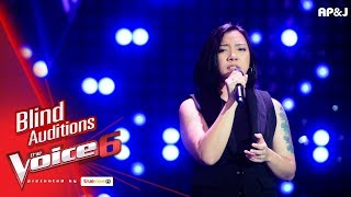 อิ๊งค์ - High & Dry - Blind Auditions - The Voice Thailand 6 - 17 Dec 2017
