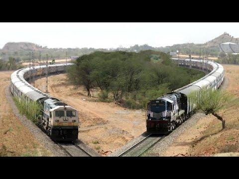 ALCO vs EMD | Diesel Actions in Royal Rajasthan | Indian Railways.