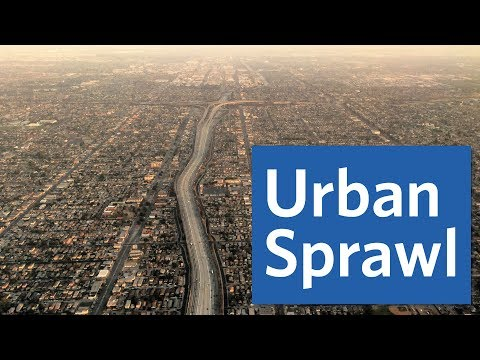 Urban Sprawl: Which U.S. City Sprawls The Most?