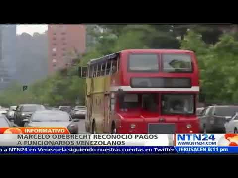 Marcelo Odebrecht reconoció pagos  98 millones de dólares en sobornos a funcionarios venezolanos