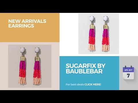 SUGARFIX By BaubleBar New Arrivals Earrings - YouTube