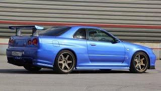 Nissan Skyline R34 GT-R. Отзыв владельца. Трейлер.