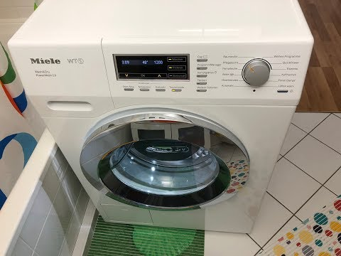 Miele WT1 Waschtrockner (Washer Dryer) WTF 130 WPM - Pflegeleicht (Synthetics) 40°C - Full Cycle