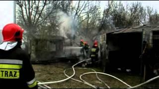 Białystok: Pożar na ul. Młynowej. Podpalenie? 2017 Video