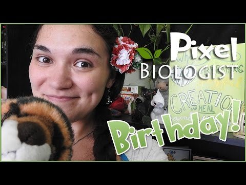 🐌 Snail Mail Birthday Unboxing!! 🐌 • Pixel Biology Updates