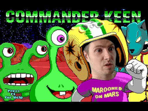 POGO STICK POWER! / Commander Keen - Let's play