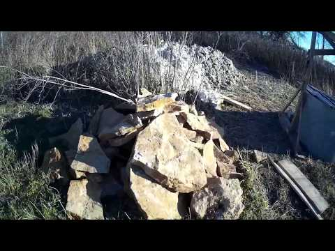 видео: вечная автаномная канализация без откачки .начало постройки