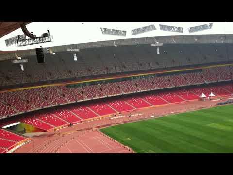 Beijing bird's nest olympic stadium