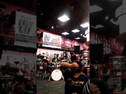 Jake Nochimow 2015 Guitar Center Drum Off Store Prelims Oakland, CA