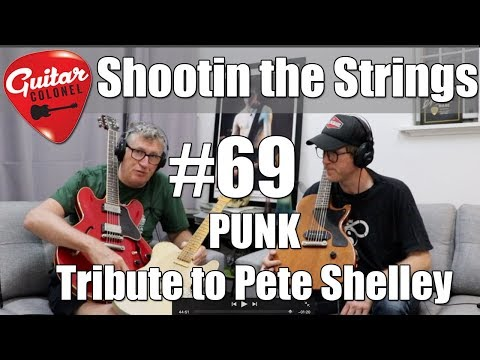 Shootin the String #69 - Punk Tribute to Pete Shelley Buzzcocks Mp3