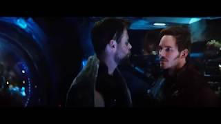 Простите, это наша еда! Теперь моя!)))) Мстители: Война Бесконечности