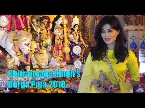 Chitrangada Singh's Durga Puja 2018   Bollywood Actresses Navratri Celebration 2018