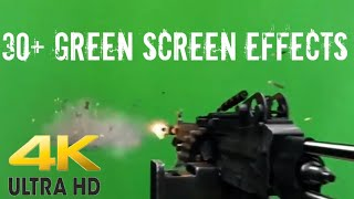 30+ HD Green Screen Effects