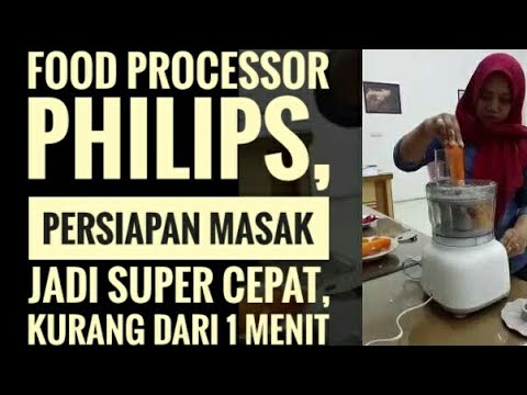 Food Processor Philips Vegetable Cutting Hr7627 Youtube
