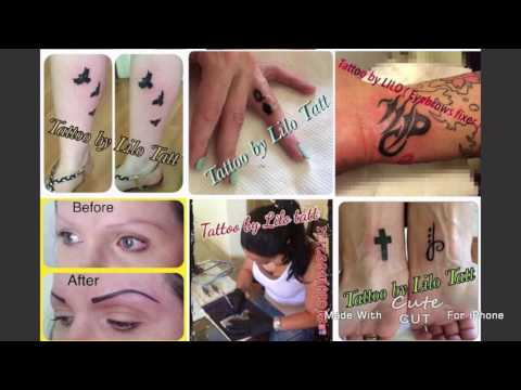 Permanent makeup and body tattoo