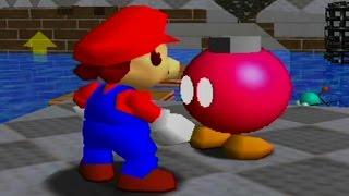 Super Mario 64 100% Walkthrough Part 11 - Wet-Dry World