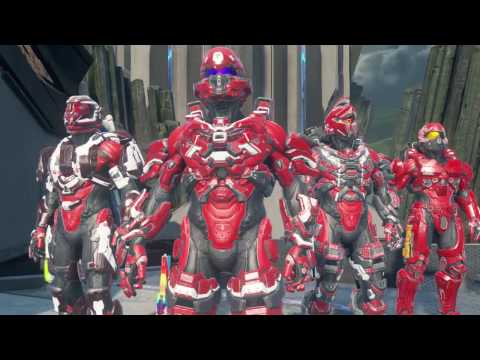 Halo 5: Guardians Social Arena Team Skirmish Multiplayer Gameplay 30-5